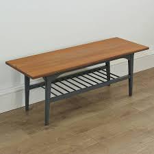 mahogany coffee table. Waldon Hand Painted Vintage Mahogany Coffee Table N