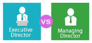 executive director vs managing director