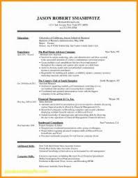 Resume With No Job Experience Resume Templates First Job Resume And Cover Letter