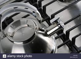 Tea Kettle On Gas Stove Stock Photos Tea Kettle On Gas Stove Stock