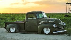 1950 Chevy 3100, Ratrod Patina, Bagged, Air Ride, Ride Tech, LS2 ...