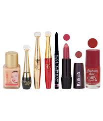 rythmx lipstick with beauty makeup kit 4 gm pack of 7