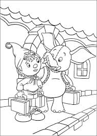 noddy and mr jumbo coloring page
