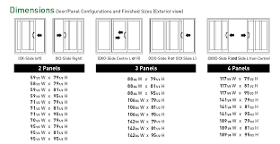 sliding glass door width saudireiki