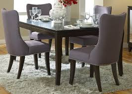 Black Upholstered Chairs Modern Upholstered Dining Chairs Grey