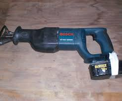 reciprocating saw uses. franken-saw (a.k.a. how to use a dewalt battery with bosch reciprocating saw): 5 steps (with pictures) saw uses