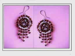 diy how to crochet chandelier earrings jewelry making beaded earrings you