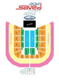 Moa Seating Chart Saved Festival 2012 Philippine Concerts