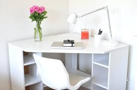 small white corner desk best corner desk with hutch for home office home office furniture ideas