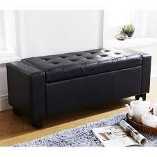 ottoman storage box.  Box VERONA OTTOMAN BLANKET BOX STORAGE BENCH FAUX LEATHER FOOT STOOL SEAT BLACK  5060353765884  EBay On Ottoman Storage Box