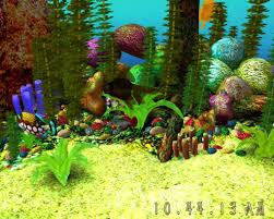 Free 3D Aquarium Screensaver - Download