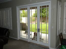 calmly image patio french doors with curtains together average cost to replace a sliding glass door