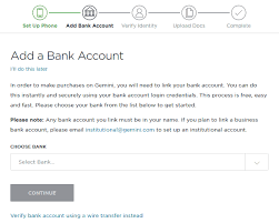 Next you will need to enter your bitcoin address. My Experience With Gemini Exchange For Buying Bitcoin