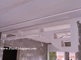 Platre Plafond Moderne Galerie Et Maison Villa Plafond Platre Plafond En Platre Style Francais