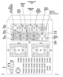 jeep wj fuse box diagram jeep wiring diagrams online