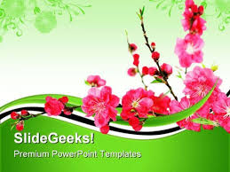 Spring Powerpoint Check Out This Amazing Template To Make Your Presentations Look Awesome At