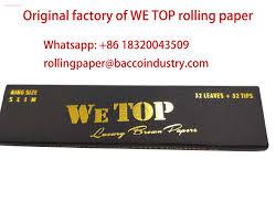 We Top Rolling Paper