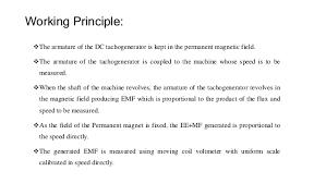 dc tachometer schematic diagram 7