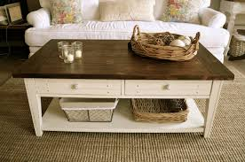 Rustic Coffee Table Decor Ideas