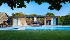 indoor outdoor pool house. Luxurious Indoor And Outdoor Oasis: Pool House By ICRAVE