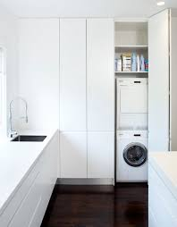 willoughby modern laundry room sydney art of kitchens pty ltd