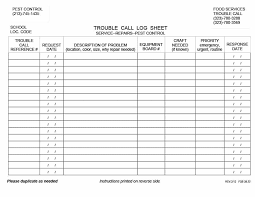 contact spreadsheet template 40 printable call log templates in microsoft word and excel