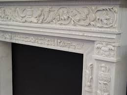 gothic revival design style fireplace mantel to enlarge