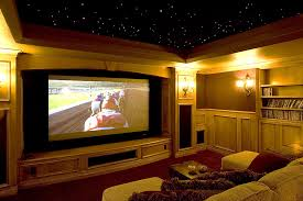 Theater room lighting Control Room Acoustics And Soundproofing Hometheaterroomwood Paneling Electronic Integration Theater Rooms Electronic Integration