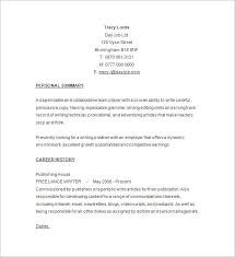 writer sample resume free download how to write a resume free download