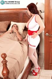 Cream Filled Busty Nurse Featuring Lana Ivans