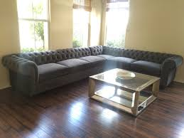Custom CHESTERFIELD sofa or sectional. Leather or fabric. Ships Nationwide.