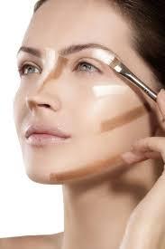 clic flat face makeup cosmetic foundation blush contour concealer soft brush
