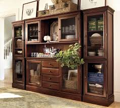 Dining room wall units Decor Ideas Pottery Barn Tucker Wall Unit Pottery Barn