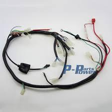 wireloom wiring harness assembly scooter gy6 150cc chinese elecric start kandi atv quad bike atomik buggy