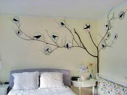 Decorating The Walls Of The Bedroom Bedroom Bird Wall X 338 Px