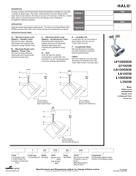 Cooper Power And Lighting Cooper Lighting Halo L10230 Users Manual Manualzz Com