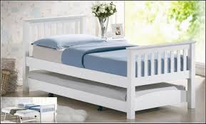 white wood twin bed with pop up trundle underneath stupendous pop up trundle bed frames