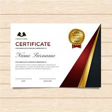 Download Award Certificate Templates Luxury Certificate Template Vector Free Download