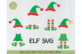 High quality vector graphics for scrapbooking, card making, paper crafts, invitations, photo cards, vinyl decals. Christmas Boy Girl Elf Svg Cut File Graphic By Diycuttingfiles Creative Fabrica