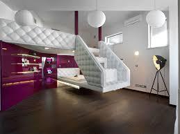 Floating Loft Bed Furniture 14 Stylish Design Of Floating Bed Stylishomscom
