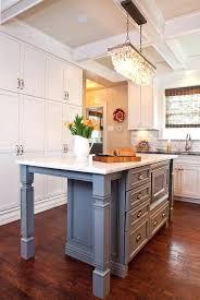 island chandelier crystal chandelier glamorous kitchen