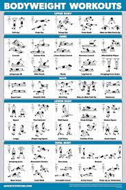 Workout Schedule Chart