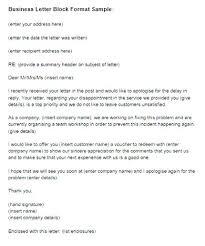 Letter Format Styles Fresh Full Block Style Business Letter