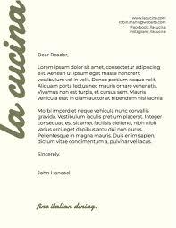 Design Your Own Letterhead Free Letterhead Maker I Graphicsprings