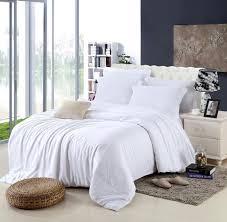 king size luxury white bedding set queen duvet cover double bed quilt doona sheet linen bedsheet bedspreads bedroom tencel spread duvet cover fl
