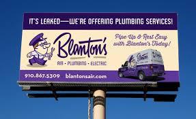 Effective Billboard Design Billboard Design For This Hvac Plumbing Electrical