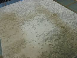 cleaning a bamboo silk rug