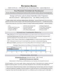 Sample Vp Resume It Simple Resume Writing Resume Template Ideas