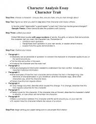 cover letter example of character sketch essay example of cover letter how to write a character analysis paragraph resume ideas essay examples samplesexample of character