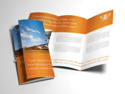 trifold brochure indesign template indesign brochure templates free template download
